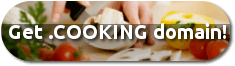 .cooking new gTLD button